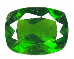 Chrome Diopside 1.28 Cts Natural Green Color Loose Gemstone