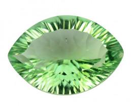 Mystic Quartz 12.31 Cts Rare Fancy Green Color Natural