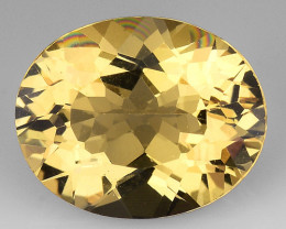 2.43 CT NATURAL HELIODOR TOP CLASS LUSTER GEMSTONE HL11