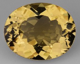 2.34 CT NATURAL HELIODOR TOP CLASS LUSTER GEMSTONE HL13