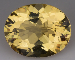 2.23 CT NATURAL HELIODOR TOP CLASS LUSTER GEMSTONE HL15