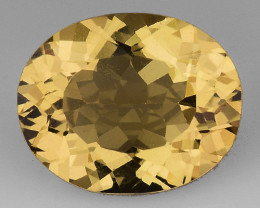 2.34 CT NATURAL HELIODOR TOP CLASS LUSTER GEMSTONE HL19