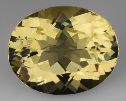 2.43 CT NATURAL HELIODOR TOP CLASS LUSTER GEMSTONE HL20