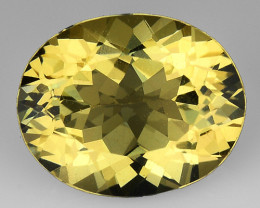 2.35 CT NATURAL HELIODOR TOP CLASS LUSTER GEMSTONE HL22