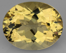 2.54 CT NATURAL HELIODOR TOP CLASS LUSTER GEMSTONE HL24