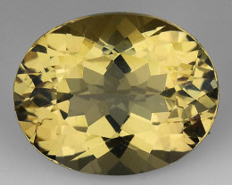 2.53 CT NATURAL HELIODOR TOP CLASS LUSTER GEMSTONE HL25