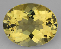 2.28 CT NATURAL HELIODOR TOP CLASS LUSTER GEMSTONE HL26