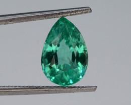 AAA Top Grade 1.25 Natural Emerald ~ Ethiopian