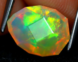 Welo Opal 1.73Ct Master Cut Natural Ethiopian Play Color Welo Opal A1704