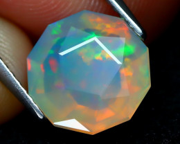 Welo Opal 2.20Ct Master Cut Natural Ethiopian Play Color Welo Opal A1705