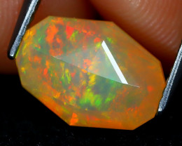 Welo Opal 2.10Ct Master Cut Natural Ethiopian Play Color Welo Opal A1707