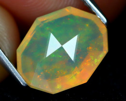 Welo Opal 2.05Ct Master Cut Natural Ethiopian Play Color Welo Opal A1709