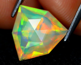 Welo Opal 1.40Ct Master Cut Natural Ethiopian Play Color Welo Opal A1711