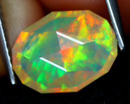Welo Opal 1.96Ct Master Cut Natural Ethiopian Play Color Welo Opal A1714