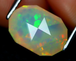 Welo Opal 2.13Ct Master Cut Natural Ethiopian Play Color Welo Opal A1717
