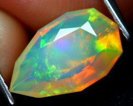 Welo Opal 1.91Ct Master Cut Natural Ethiopian Play Color Welo Opal A1719