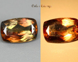 1.205 CT NATURAL UNHEATED COLOR CHANGE AXINITE