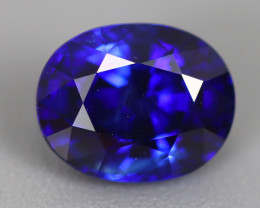1.190 CT IF CLEAN NATURAL ONLY HEATED ROYAL BLUE SAPPHIRE SRI LANKA