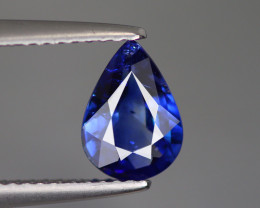 1.485 CT NATURAL ONLY HEATED ROYAL BLUE SAPPHIRE SRI LANKA