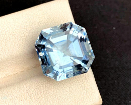 14.20 Carats Aqua Goshnite Gemstone From Pakistan