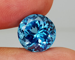 8.65Crt Blue Topaz Natural Gemstones JI134