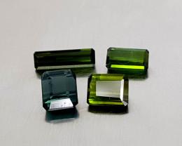 4Crt Tourmaline lot Natural Gemstones JI134