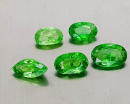 1.85Crt Rare Tsavorite Garnet Lot Natural Gemstones JI134