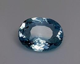 2Crt Blue Aquamarine Natural Gemstones JI134