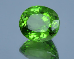 IF 5.00  CT Natural Color Beautiful Oval Shape Peridot From Pakistan