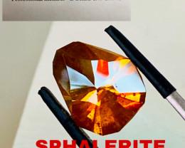 7.9 CT SPHALERITE FROM SPAIN -RARE-Master cut