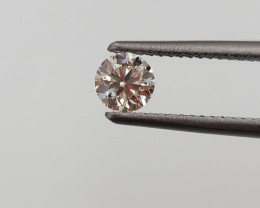 GIA Certified Round Brilliant Cut 0.41 cts Natural Diamond