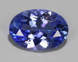 0.65 CTS EXCELLENT NATURAL RARE TOP QUALITY BLUE TANZANITE
