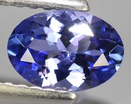 0.60 CTS EXCELLENT NATURAL RARE TOP QUALITY BLUE TANZANITE