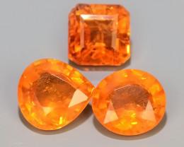 5.05 Cts~Natural Shocking Fanta Orange Spessartite Garnet Namibia, Amazing!