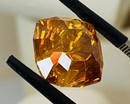 11 CT- SPHALERITE FROM SPAIN -THE COLOURS OF THE RAINBOW— RARE-Master cut