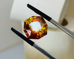 8.82CT- SPHALERITE FROM SPAIN -THE COLOURS OF THE RAINBOW— RARE-Master cut