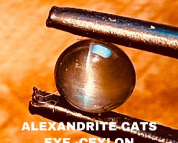 1.15CT -ALEXANDRITE CATS EYE- BEST FROM CEYLON- FROM COLLECTOR