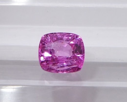 1.08ct unheated pink sapphire