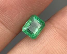 1.62 Cts Fine Quality Vivid Green Natural Zambian Emerald