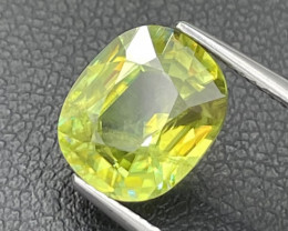 3.62 Cts Amazing Fire Fine Quality Natural Color Sphene