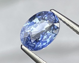 1.57 Cts Top Quality Eye Catching Natural Blue Sapphire Srilanka