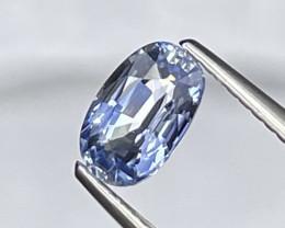 1.38 Cts Srilanka Carolina Blue AAA Quality Natural Sapphire