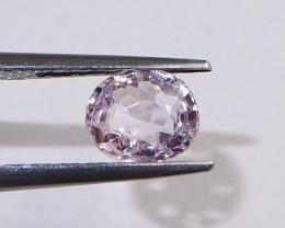 1.04ct natural light pink spinel
