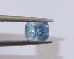 1.08ct unheated blue sapphire