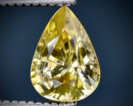 1.41 Crt Zircon Faceted Gemstone (Rk-62)