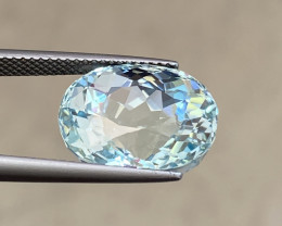 11.14 Cts Natural Aquamarine Quality Gemstone.