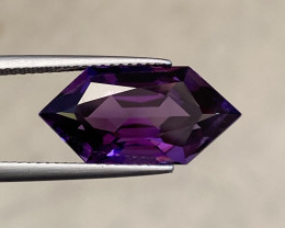 Natural Amethyst 7.35 Cts Excellent Fancy Cut Gemstone