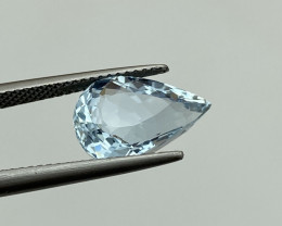 3.80 Cts Natural Aquamarine Quality Gemstone