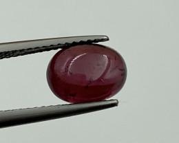 Natural Rhodolite  Cabochons 3.36 Cts Gemstone.
