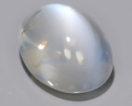 2.45 CTS WOW!!! NATURAL TOP QUALITY WHITE-BLUE MOON STONE INDIA~